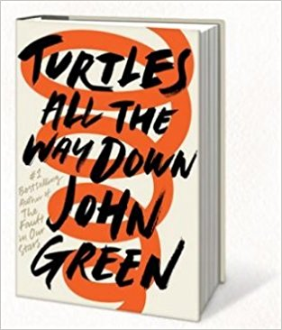 Turtles All The Way Down by John Green Paperback