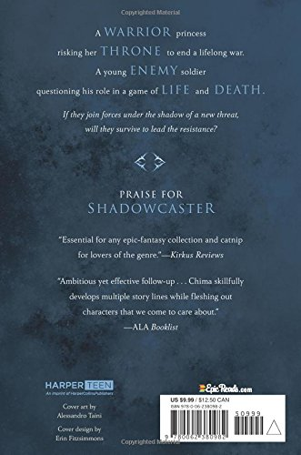 Shadowcaster by Cinda Williams Chima Coverback