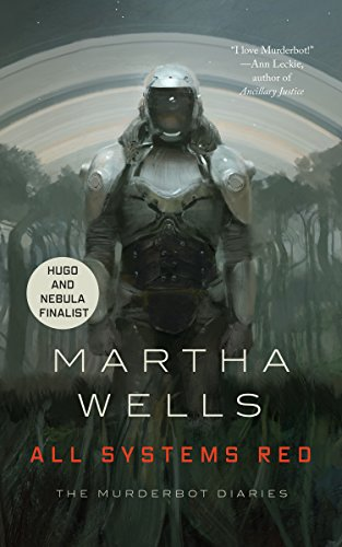 All Systems Red by Martha Wells Kindlecover